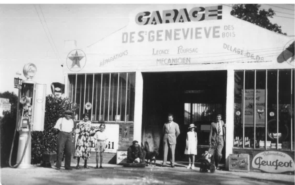 Garages anciens - Page 2 1930